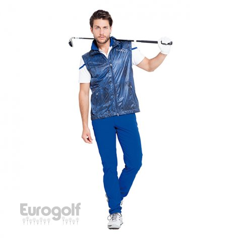 Vêtements golf produit Collection bleue de Chervo