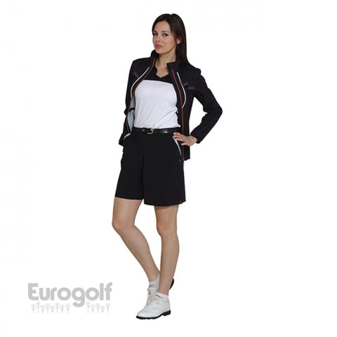 Vêtements golf produit Collection ladies black and white de Chervo