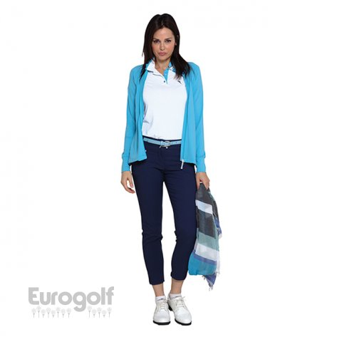 Vêtements golf produit Collection ladies bleue de Chervo