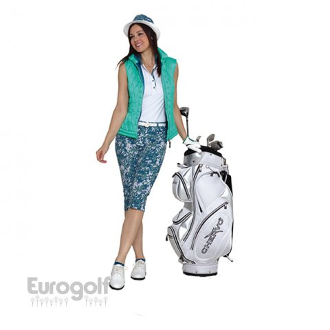 Vêtements golf produit Collection ladies green de Chervo