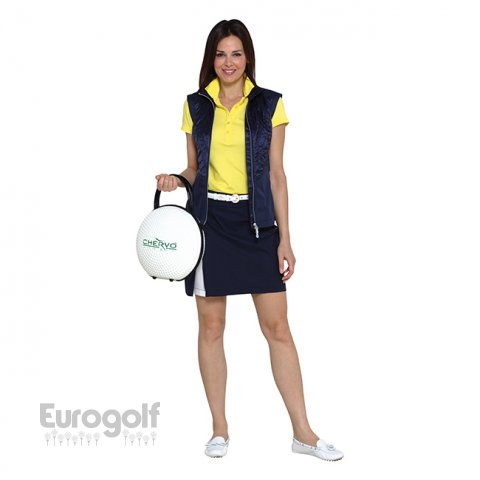 Vêtements golf produit Collection ladies jaune de Chervo