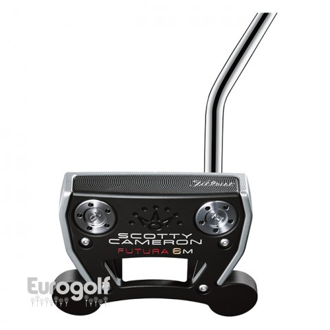 Putters golf produit Futura 6M de Scotty Cameron