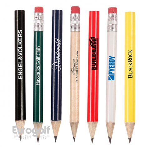 Logoté - Corporate golf produit Personalised pencils with eraser de Masters Golf Butler