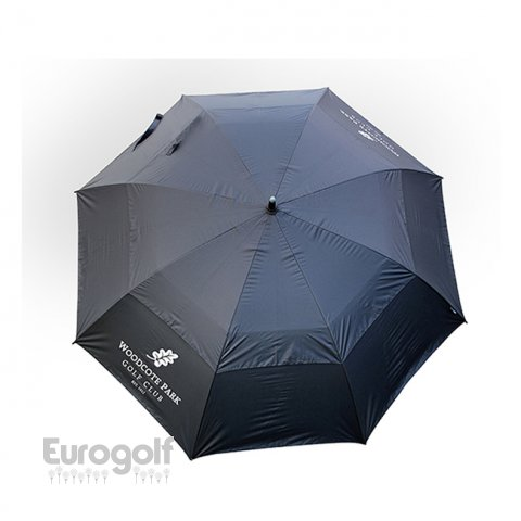Logoté - Corporate golf produit Deluxe Golf Umbrella de Masters Golf Butler