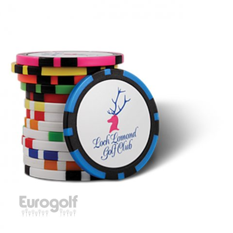 Logoté - Corporate golf produit Poker Chips de PRG