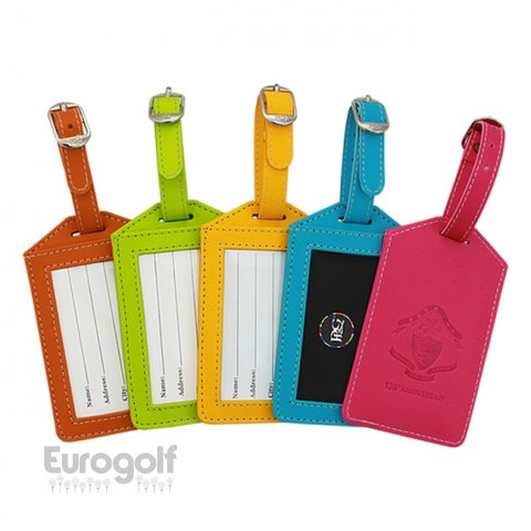 Logoté - Corporate golf produit Colour Tech Luggage Tag de PRG