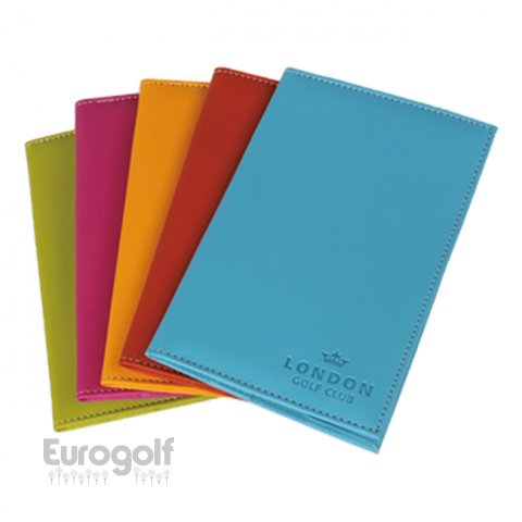 Logoté - Corporate golf produit Colour Tech Scorecard Holder de PRG