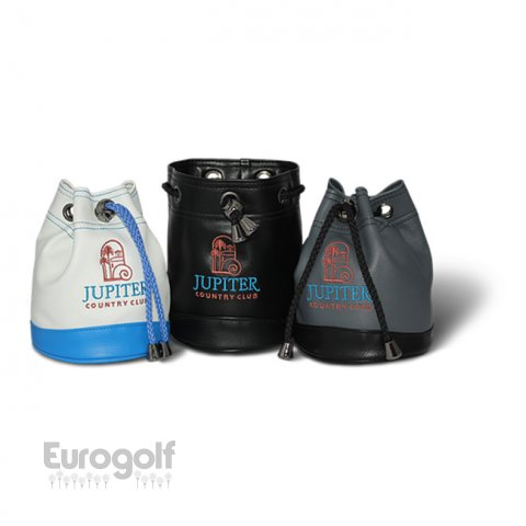 Logoté - Corporate golf produit Deluxe Pouch Tote Bag de PRG