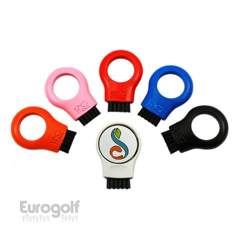 Logoté - Corporate golf produit Colour Tech brush de PRG