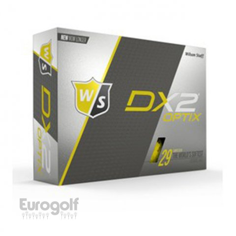 Balles golf produit DX2 Optix de Wilson