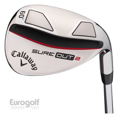 Wedges golf produit Wedges SURE OUT 2 de Callaway