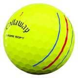 Balles golf produit Balles Chrome Soft Triple Track Yellow de Callaway Image n°3