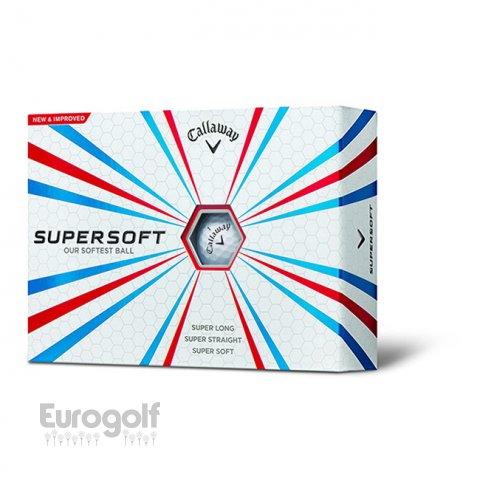 Logoté - Corporate golf produit Balles Supersoft de Callaway