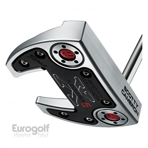 Putters golf produit Futura X5R de Scotty Cameron