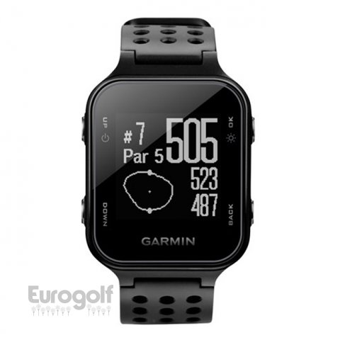 High tech golf produit Montre S20 de Garmin