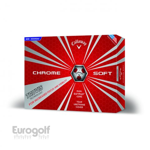 Balles Chrome Soft Truvis