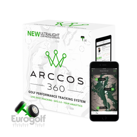High tech golf produit Arccos 360 de Cobra