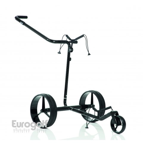 Chariots golf produit Carbon Travel de JuCad