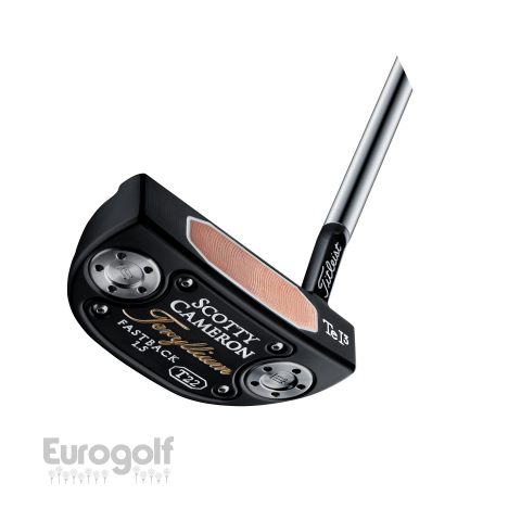 Putters golf produit T22 Fastback de Scotty Cameron