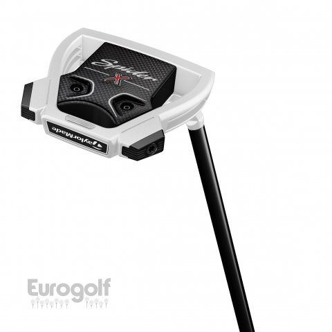 Putters golf produit Putter Spider X Chalk de TaylorMade
